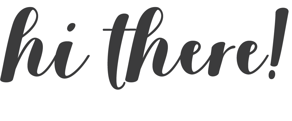 "The words ""hi there!"" written in a scripted font"