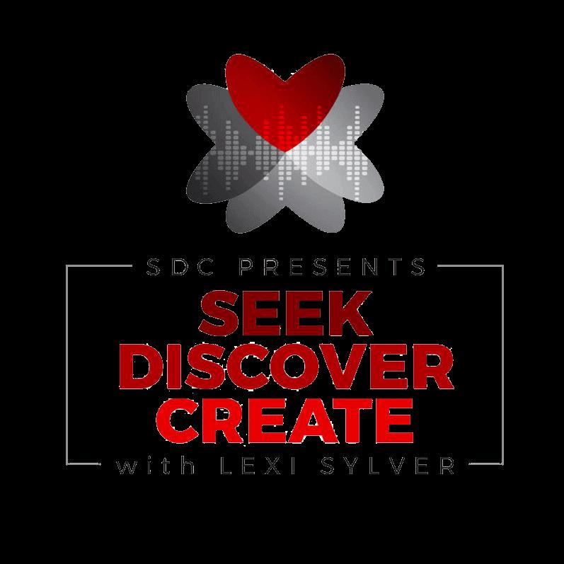 SDC Presents: Seek, Discover, Create with Lexi Sylver Logo