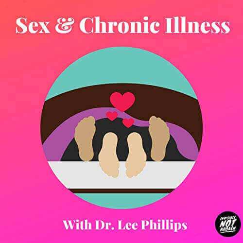 """Graphic reads """"Sex & Chronic Illness Podcast with Dr. Lee Phillips"""""""